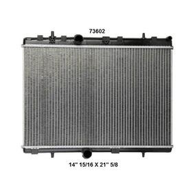 Radiador Para Citroen C4 0811 26 Mm
