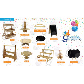Excelente Kit Para Mesa De Dulces Candy Bar (2)