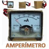 Amperímetro Analógico Miliamperímetro Choque Bateria