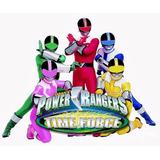 Power Rangers 9ª Temporada - Força Do Tempo 4 Dvds