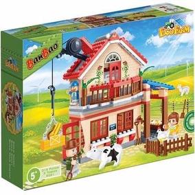 Brinquedo Para Montar Eco Fazenda Casa