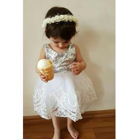 Elegante Vestido Fiesta Princesa Bautizo Presentación
