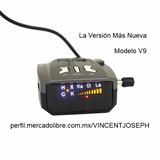 Excelvan Radar Detector Auto 360 Laser 16 Bandas Nuevo V9