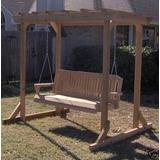 hamacas y sillones colgantes de madera con almohadones - Sillones Colgantes