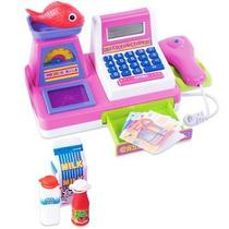 Maquina Registradora Rosa Pequena 34850