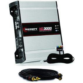 Amplificador Módulo Taramps Hd 3000 Rms Hd3000 2 Ohm +brinde