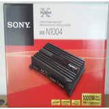 Amplificador Sony Xm-n1004 4 Canales 1000 Watts Cuadrafonico