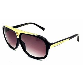 Oculos De Sol Premium Evidence Unisex Acetato Lente Cristal