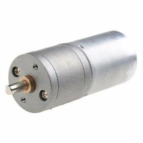 Motor Dc C/ Caixa De Redução 12v / 100rpm - Arduino / Robôs