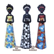 Trio De Mulheres Negras - Escultura / Estatua / Estatueta