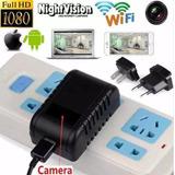 Carregador Wi-fi Camera Tempo Real Acesso Celular Espionagem