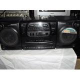 Radiograbadora Panasonic Cd/kct/radio En Buenas Condiciones