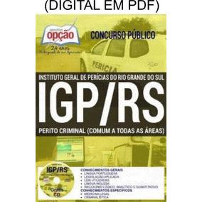 Apostila Igp Rs 2017 Périto Criminal