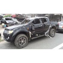 Sucata Triton 2014 V6 Flex 4x4 (somente Em Peças)