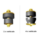 Kit Dodge Pick Up D100/d200 Conjunto Taco Goma Trompa Cabina