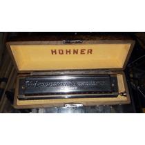 Gaita Honher 64 Chromonica - Importada - Frete Grátis