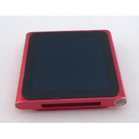Ipod Nano Vermelho 16gb 6 Geração Corrida Parcelado - 6ddw9