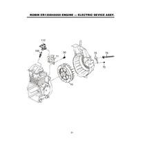 Coil Bobina Para Motor Robin Er12 Bailarinas Mtx80