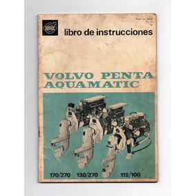 Manual Instruçoes Motor Maritimo Volvo Penta Aquamatic 1970