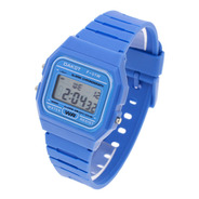 Reloj Dakot Hombre 353 - Caucho Wr Crono Alarma Luz Vintage