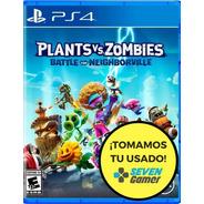 Plantas Vs Zombies Battle For Neighborville Ps4 Juego Fisico