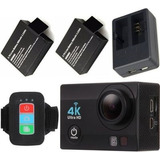 Camara Deportiva Sensor Sony 4k 30fps 16mp Wifi Flash Lcd
