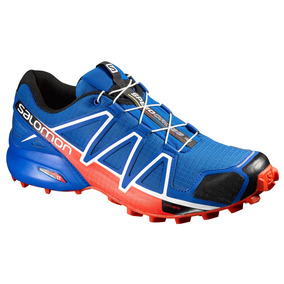 Tenis Hombre Salomon Trail Running Speedcross 4 Azul