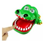 Brinquedo Jogo Divertido Crocodilo Dentista Polibrinq An0025