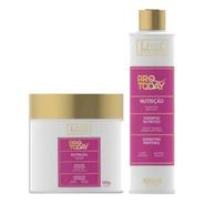 Kit Nutrição Lissé Super Oferta Shampoo 300ml + Máscara 500g