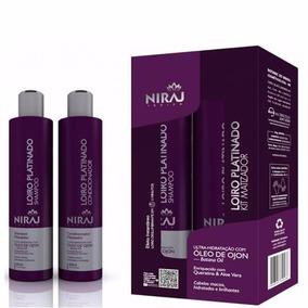 Niraj Kit Shampoo E Condicionador Matizante Loiro Platinado