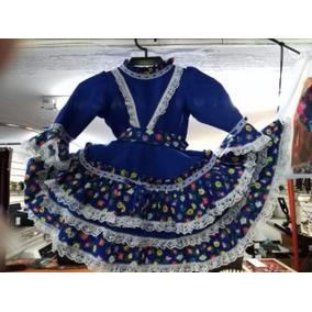 Vestido De Huasa Talla 4-6
