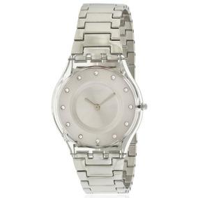 df0226f69f98 Reloj Swatch Color Plata En - Joyas y Relojes en Mercado Libre México