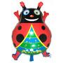 Balão Metalizado Joaninha Ladybug 50x48cm