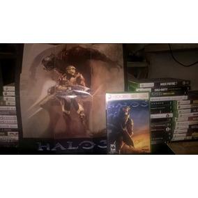 Halo 3 En Español Con Manual Y Poster