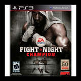 Fight Night Champion - Full Game Ps3
