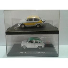 Fiat 600 D Y Fiat Abarth 1000 - Escala 1/43