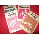 Reglamentos Deportivos:handbol Basquet Rugby Hockey S/césped