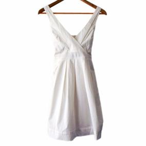 Vestido Corto Blanco Marca Bershka (nuevo!) #roa