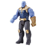 Muñeco Thanos Figura De Accion Titan Hero Series Hasbro
