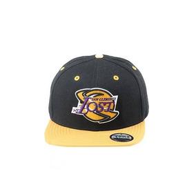 Boné Lost Lakers Aba Reta Snapback Preto 8465 Original 108c572abc9