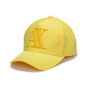 Gorra Armani Exchange Placa Color Primario Amarillo - Ropa cf614e597d2