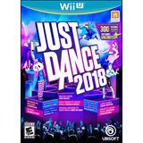 Just Dance 2018 Videojuego Para Wii U