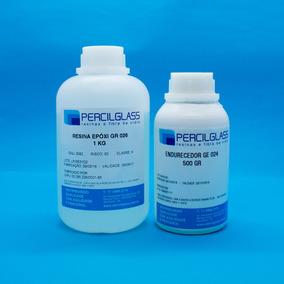 Resina Epóxi Cristal P/ Madeira/mesas/móveis - Kit 1,5 K