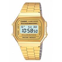 Reloj Casio Dorado Vintage Original Water Resist