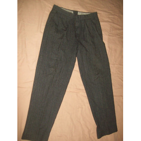 Pantalon Gris Para Vestir Caballero Talla 32