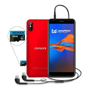 Celular Aiwa Awm999 16gb 2gb Ram 13+2 Mpx Huella + Micro Sd