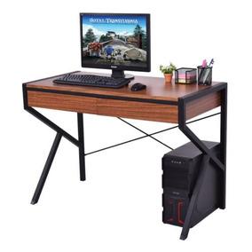 Nueva Madera Top Pc Laptop Computadora Escritorio Casa Works