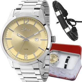Kit Relógio Condor Masculino Com Pulseira Co2115wf/k3d