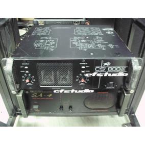 Amplificador Profissional Cygnus Sa-4 Classe Ab - Original