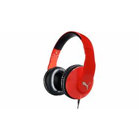 Fone De Ouvido Vortice Com Microfone Vermelho - Puma